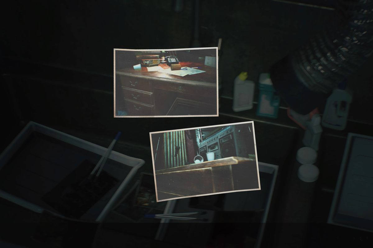"Resident Evil 2 remake guide: Film: ""Hiding Place"" locations"