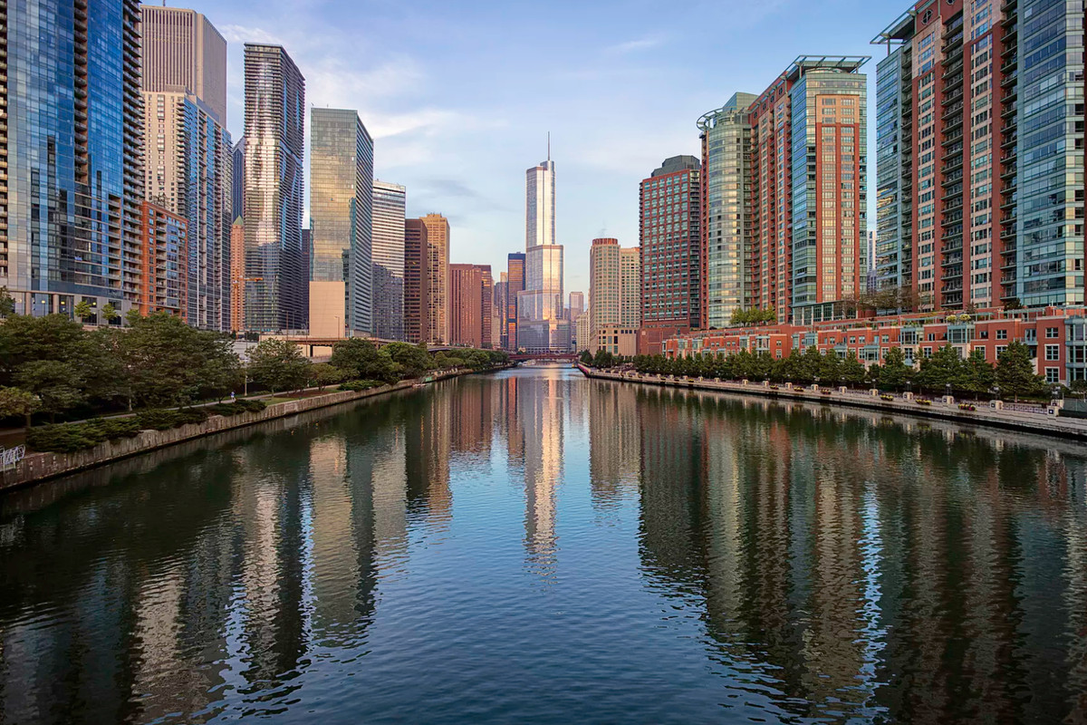 chicago river - Photo