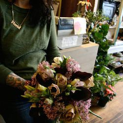 """""""I have to have fresh flowers every week to beat the winter blues!  <a href=""""http://asraigarden.com/"""">Asrai Garden</a> [1935 West North Avenue] is right around the corner from my house and I always stop in after the gym to pick up an arrangement of amnesi"""