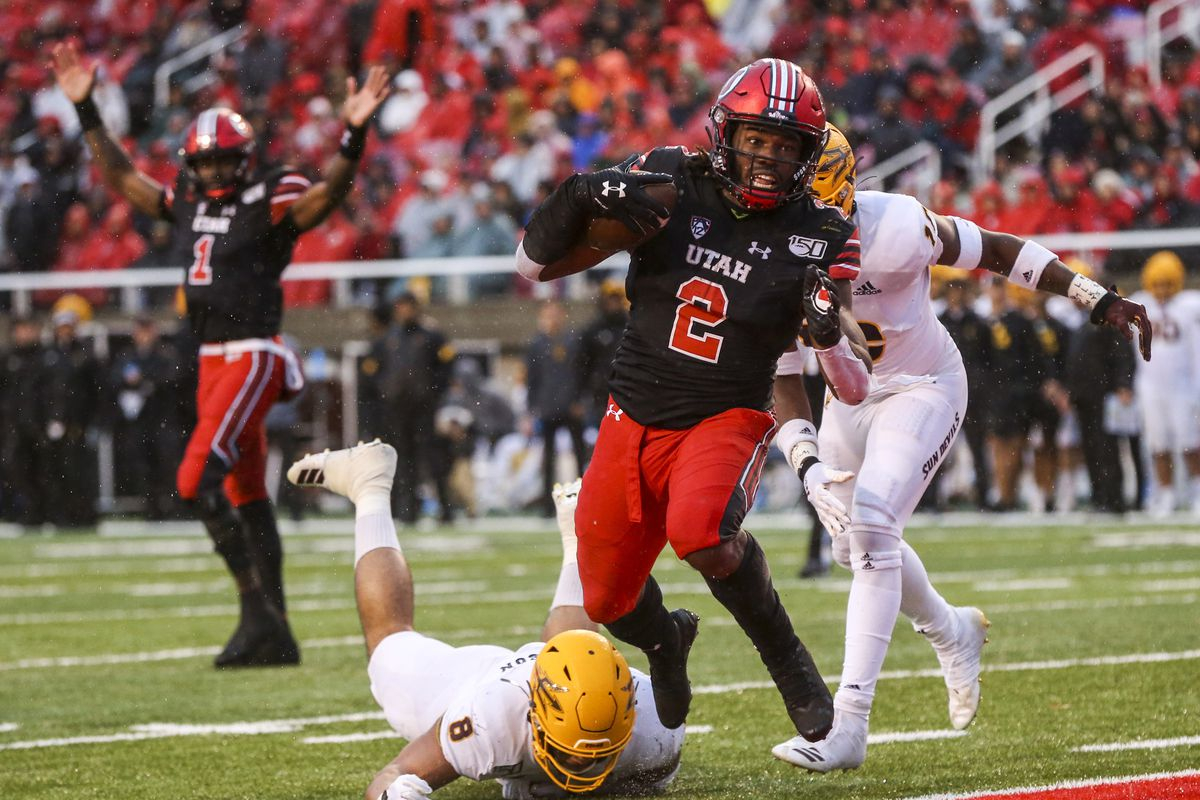 Zack Moss breaks Utah's all-time rushing record with 32-yard ...