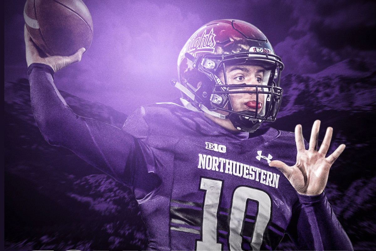 Class Of 2020 Qb Aidan Atkinson Commits To Northwestern Inside Nu