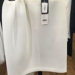 Simone Rocha gathered neoprene skirt, UK size 8, $240.60 (from $802)