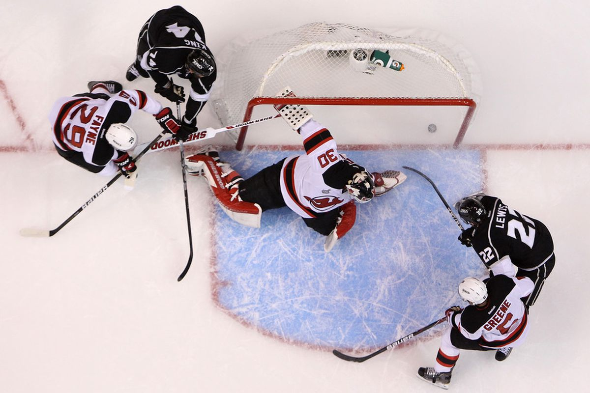 pictured: the last goal trevor lewis will ever score