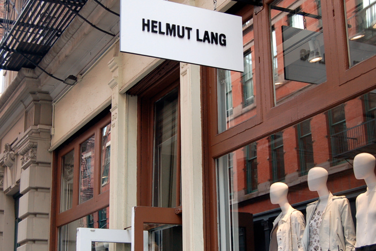 "The Helmut Lang store in Soho. Image via <a href=""http://blog.thompsonhotels.com/blog/2012/06/thompson-summer-series-60-thompson/helmut-lang-in-soho/"">The Thompson Hotel</a>"