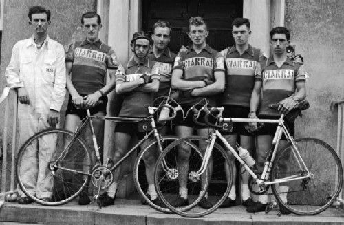Men of the Rás - the 1956 Kerry team, featuring Mangan, Fitzgerald, O'Callaghan,Switzer,O'Connor, and Moriarty