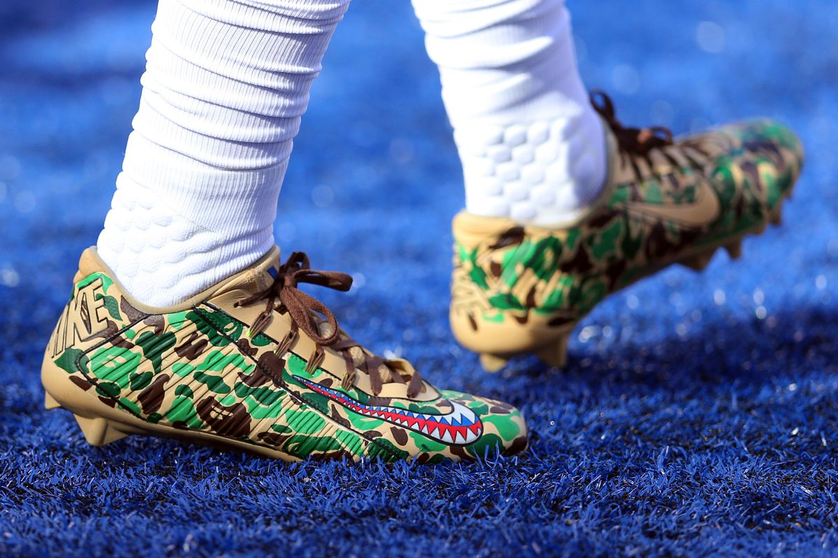 New York Giants Rocking Custom Cleats For Great Causes