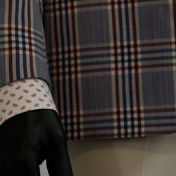 """This year, the trend is patterns, patterns and patterns thanks to suit-focused shows like Mad Men and Boardwalk Empire. """"We get the patterns that were high fashion a few decades ago, but we give them a more modern cut. Most of those shows have patterns, m"""
