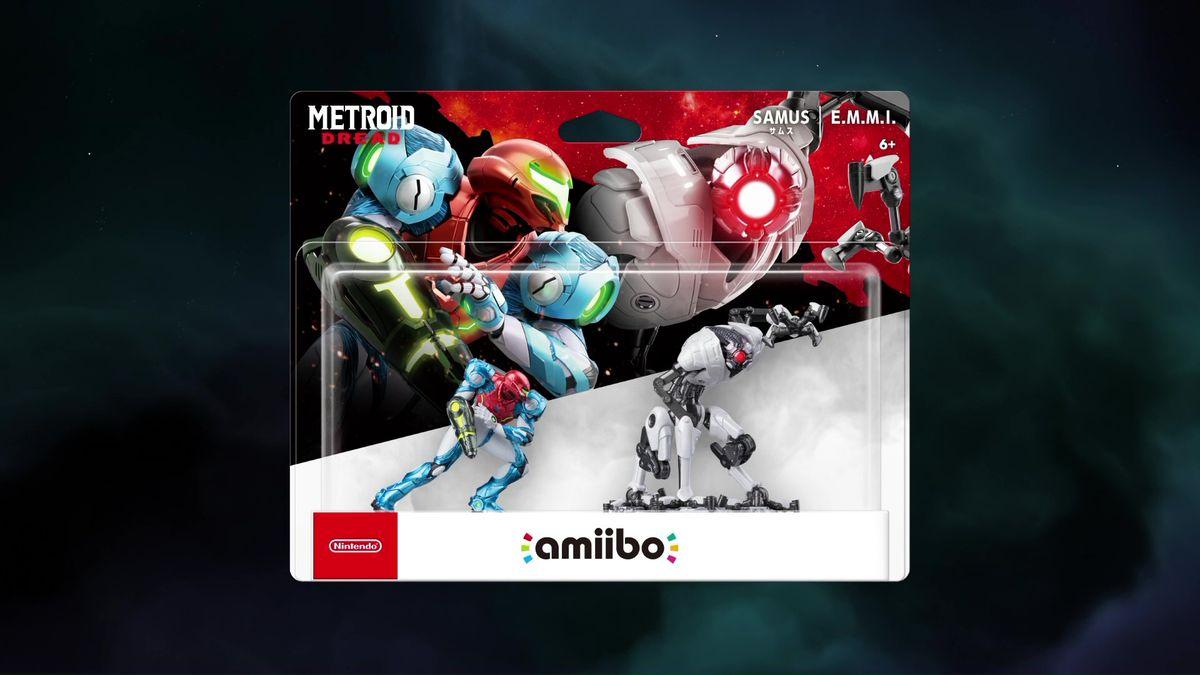 Metroid amiibo Nintendo Direct E3 2021 208