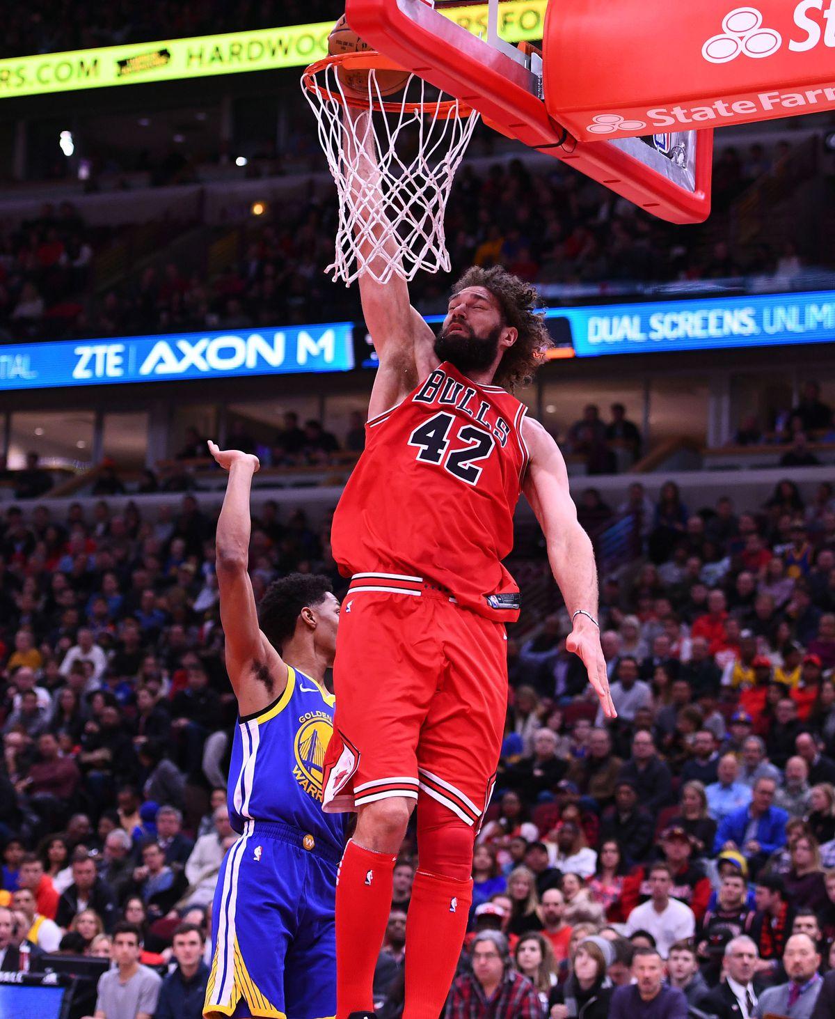 NBA: Golden State Warriors at Chicago Bulls