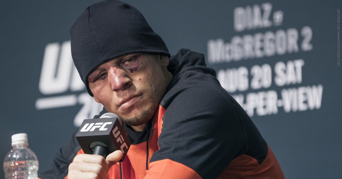 Nate Diaz fires shot at 'lil' b*tch' Dustin Poirier over Conor McGregor trilogy chatter - MMA Fighting