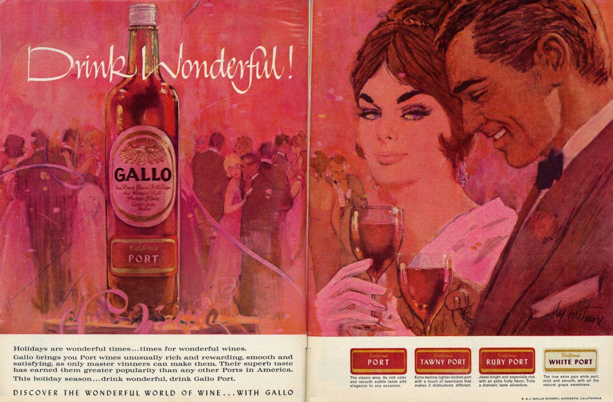 A 1962 Gallo ad.