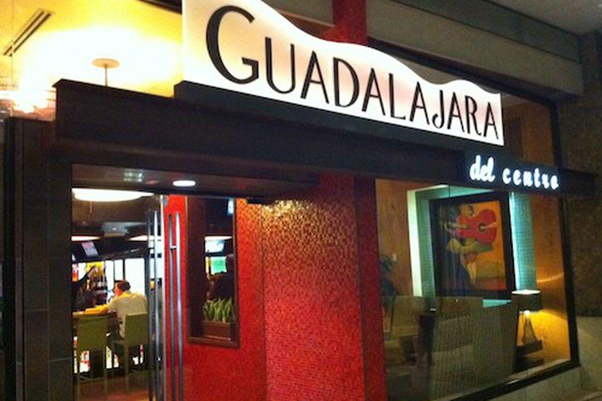 Guadalajara restaurant in Houston Pavilions.