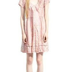"""<a href=""""http://www.marcjacobs.com/marc-jacobs/womens/ss12-and-re12-ready-to-wear/w51129537/poppy-jacquard-dress"""">Poppy Jacquard Dress</a> $597 (was $995)"""