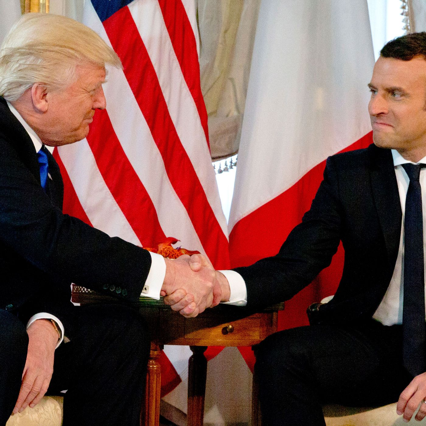 The Political Psychology Behind Trumps Bizarre Handshakes Vox