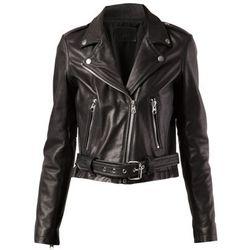 "<b>Laer</b>, <a href=""http://www.farfetch.com/shopping/women/laer-cropped-moto-jacket-item-10677331.aspx?storeid=9058&ffref=lp_55_"">$800</a>"