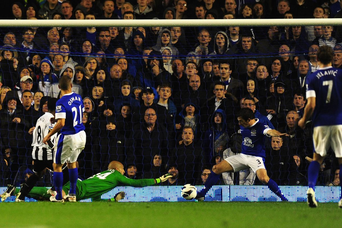 Baines clears off the line, but defensive issues raise their ugly head
