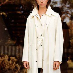 Hooded coat, $149.90; short work coat, $129.90; extra fine merino leggings, $39.90