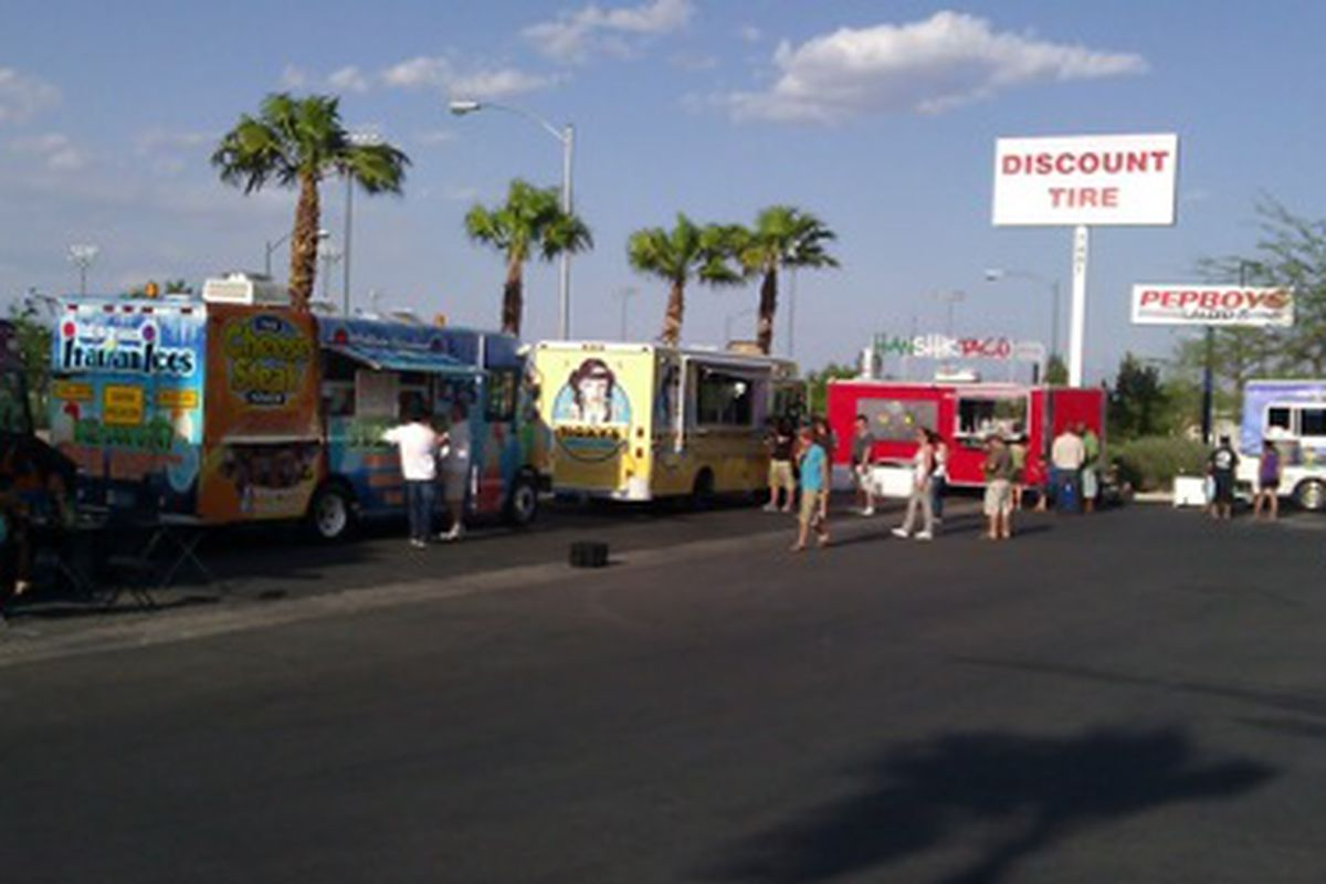 The food trucks of Vegas.