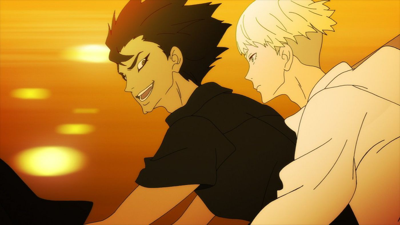 Image result for devilman crybaby ryo and akira