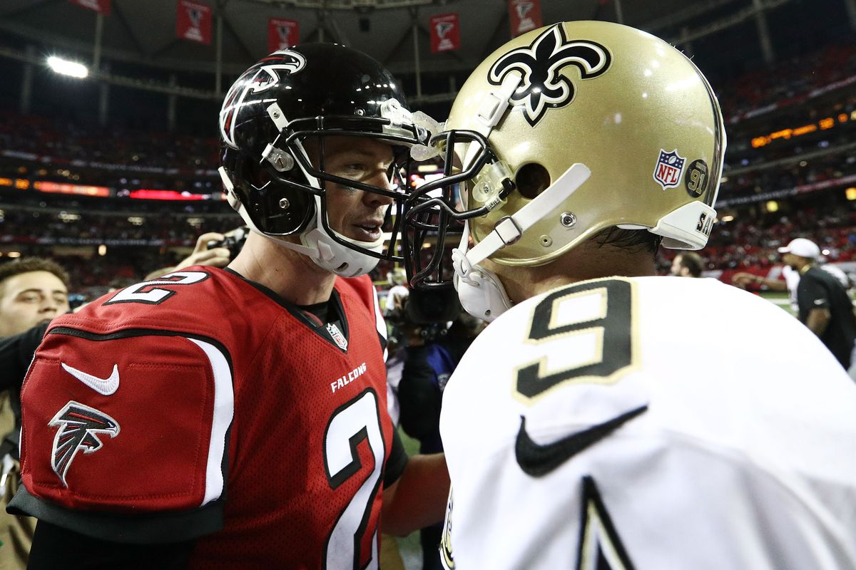 thursday night football live saints falcons battle red blog