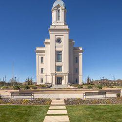 Exterior of the Cedar City Utah Temple.