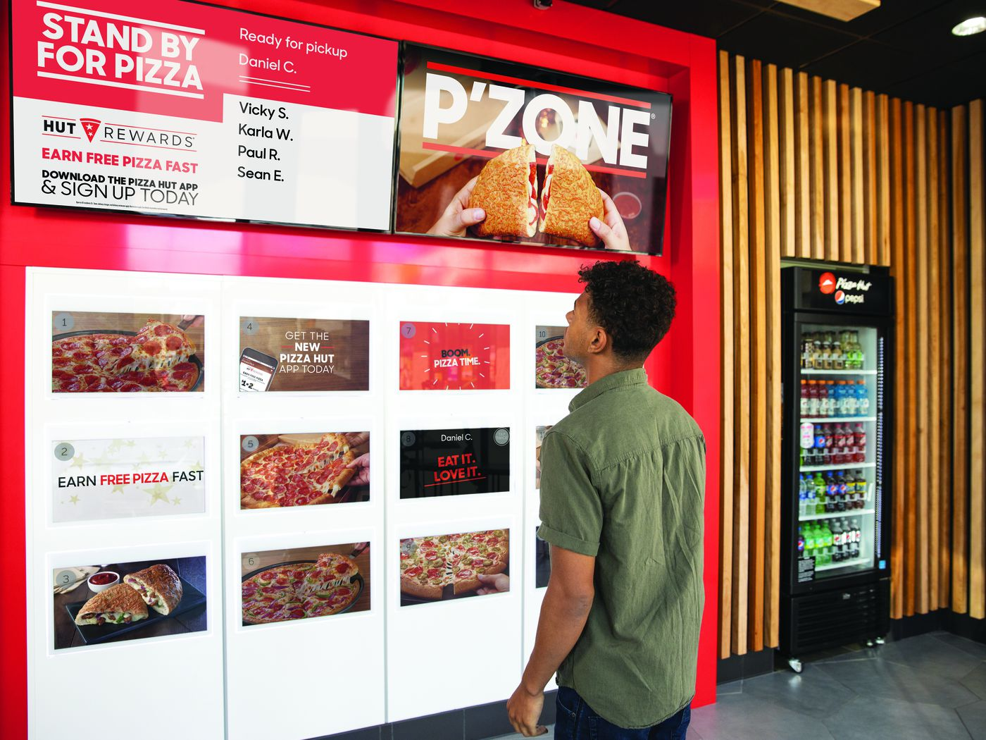 Pizza Hut Tests New Ordering System Using High Tech Automats Eater