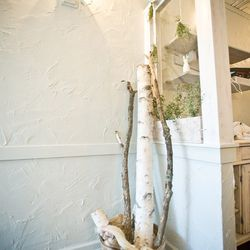 Regan added touches to bring nature in from the outdoors