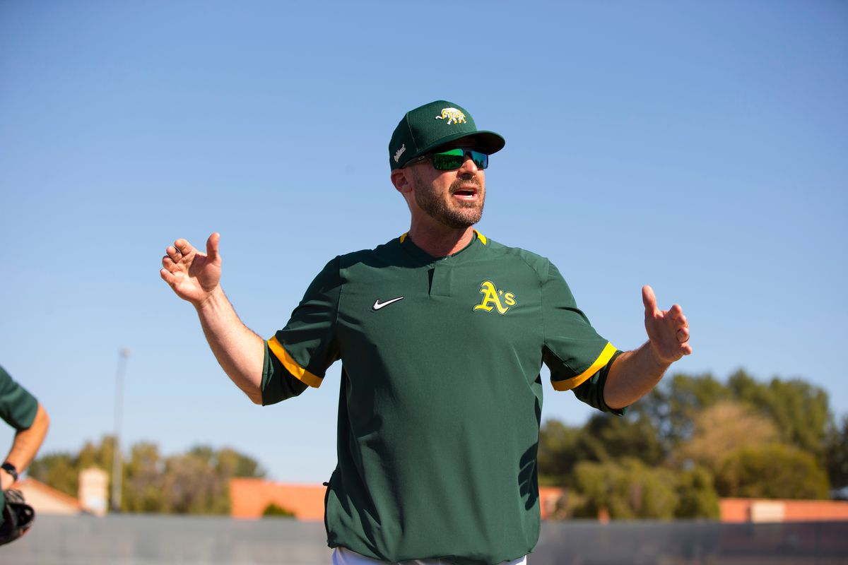 Oakland Athletics Team Meeting and Workout