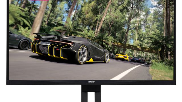 An Acer XZ321QU curved gaming monitor with FreeSync is discounted to $399.99.