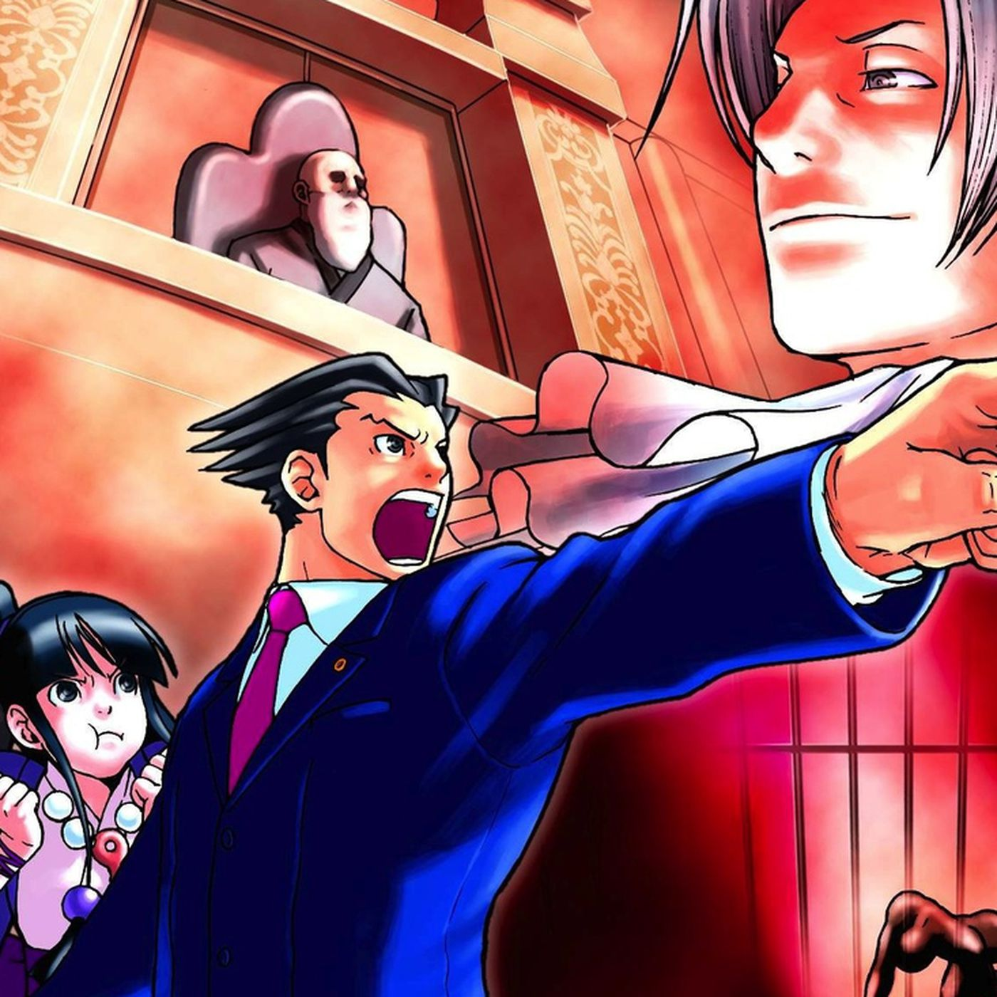 Ace Attorney Anime Coming April 2016 Polygon