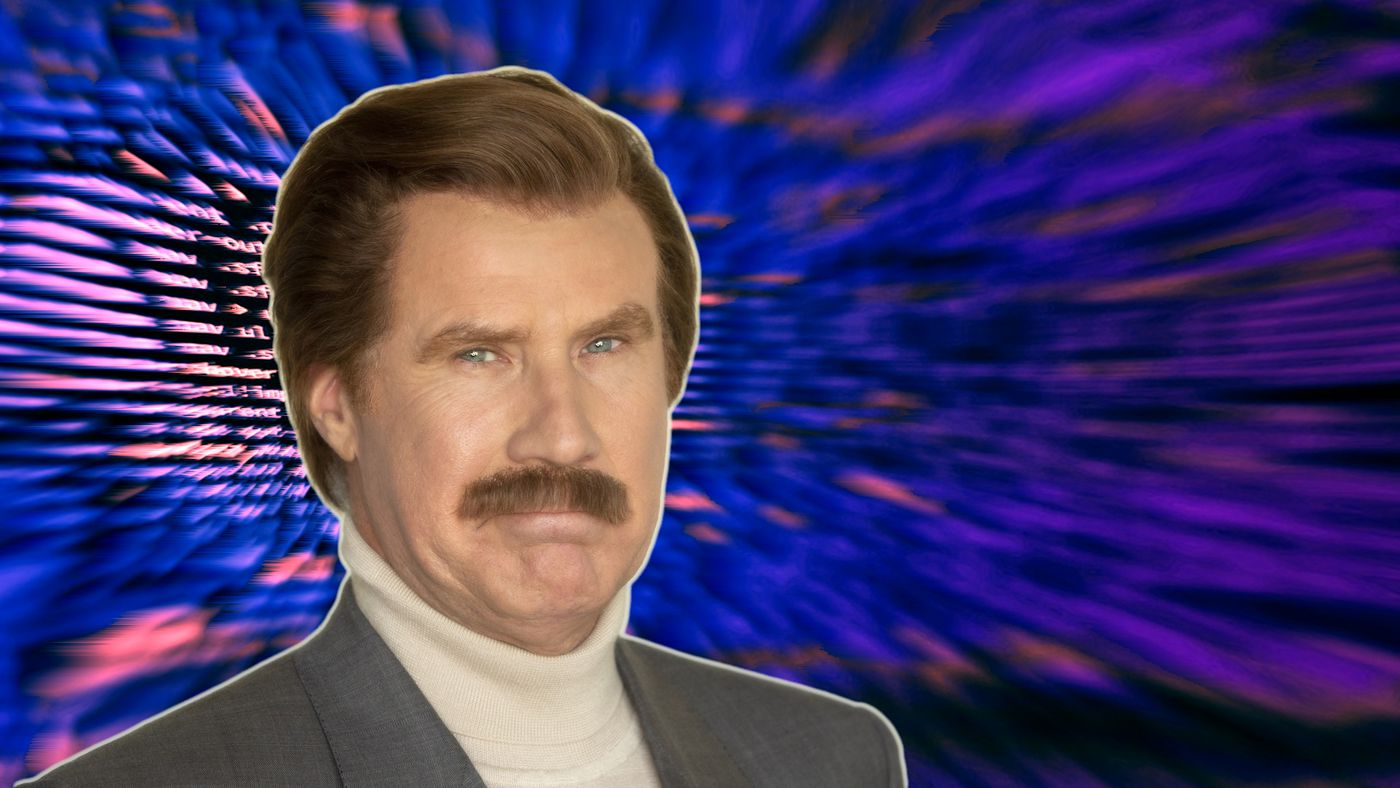 Ron Burgundy Dives Into The Internet With A Cyber Security Expert