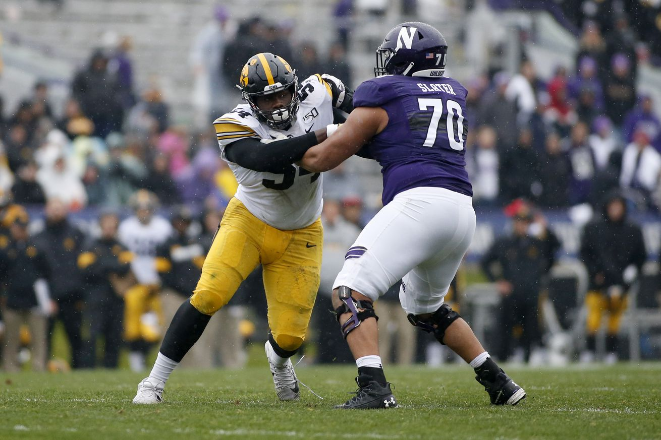 Iowa v Northwestern