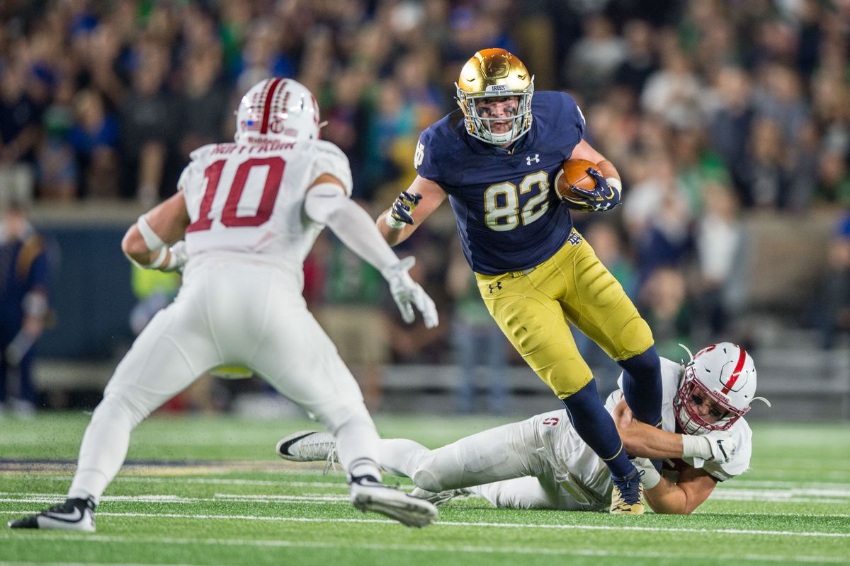 Notre Dame Football Depth Chart Stanford