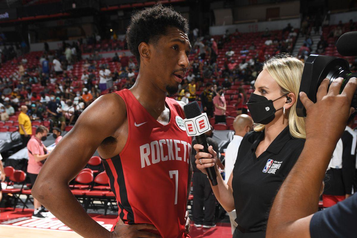 2021 Las Vegas Summer League - Houston Rockets v Portland Trail Blazers