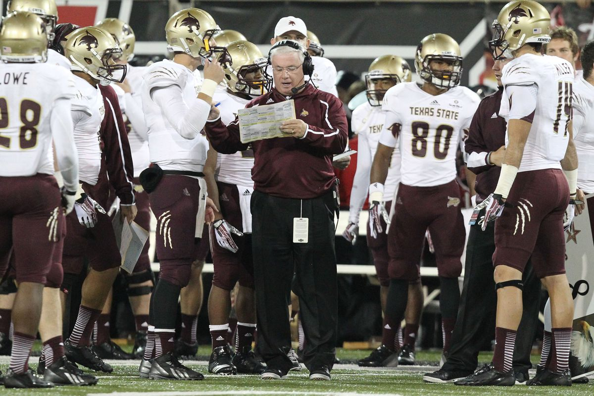 Dennis Franchione: the head coach of the 23rd-best four-loss team in the country!