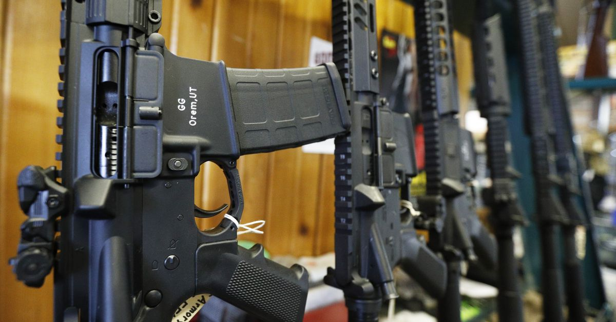Salesforce says it won't work with retailers that sell semi-automatic weapons