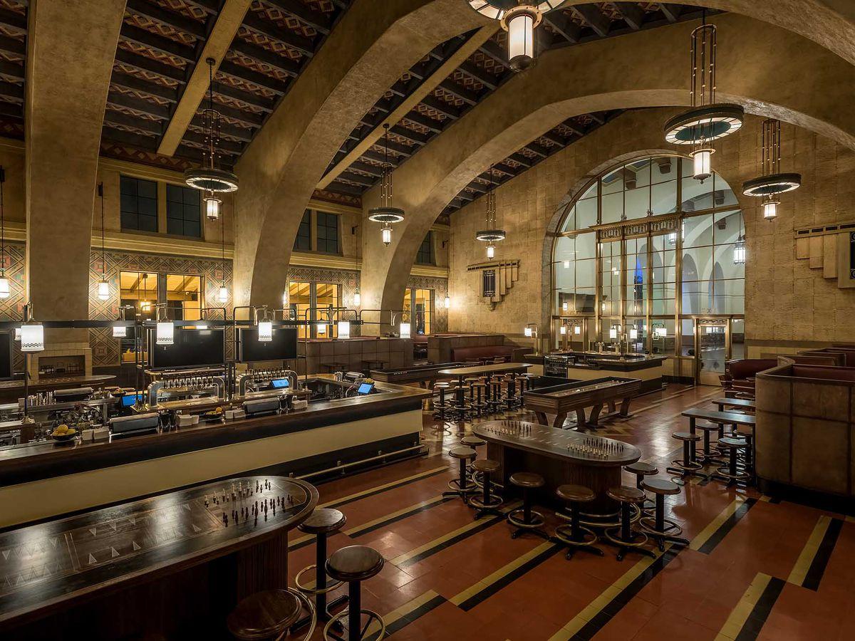 Imperial Western Downtown LA Brewing Streamliner