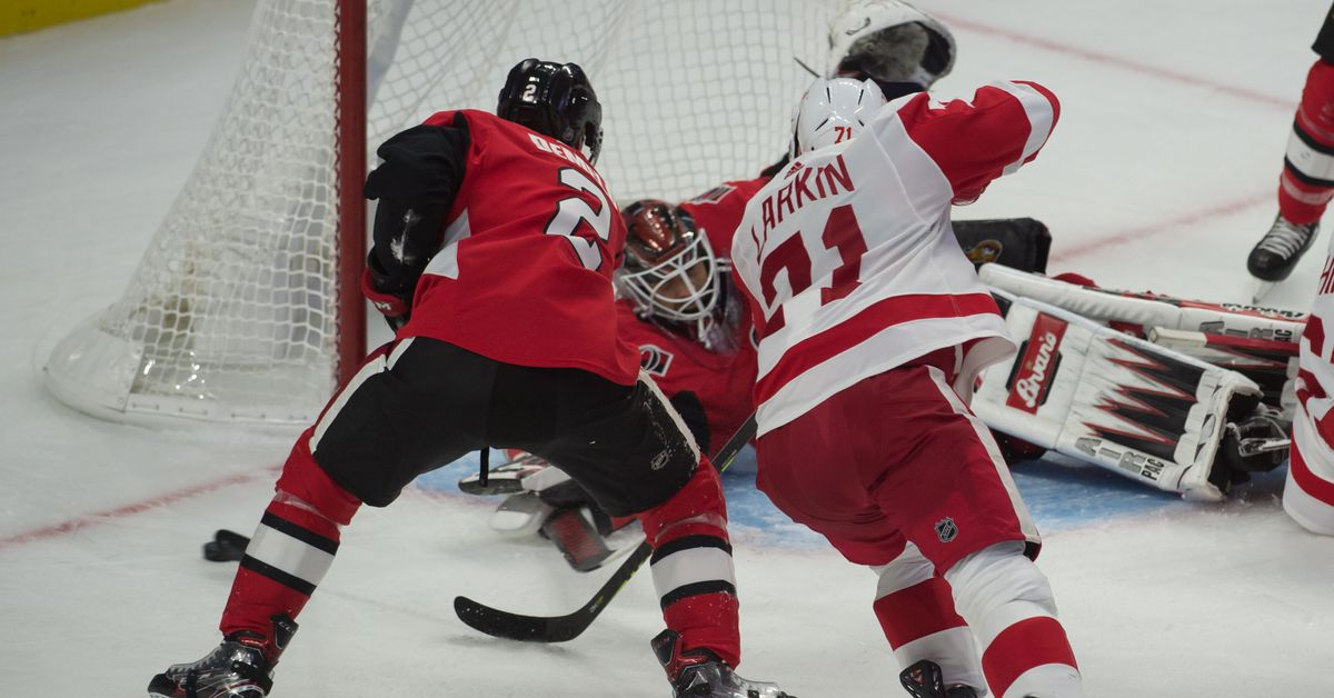 Game 21 Preview and Open Thread: Ottawa Senators at Detroit Red Wings - Silver Seven