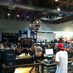 DJ at American Rag