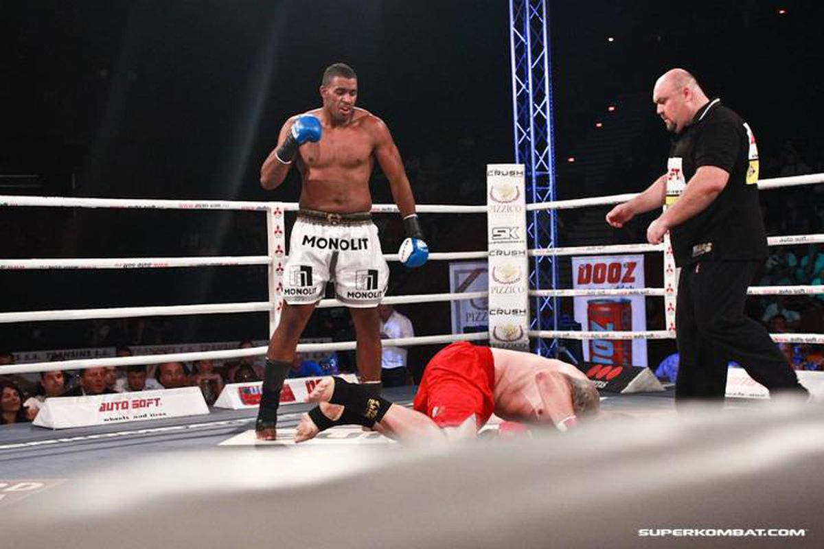 Superkombat Heavyweight Benjamin Adegbuyi is now confirmed for the K-1 2012 Grand Prix. Photo courtesy of Superkombat.com, used with permission.