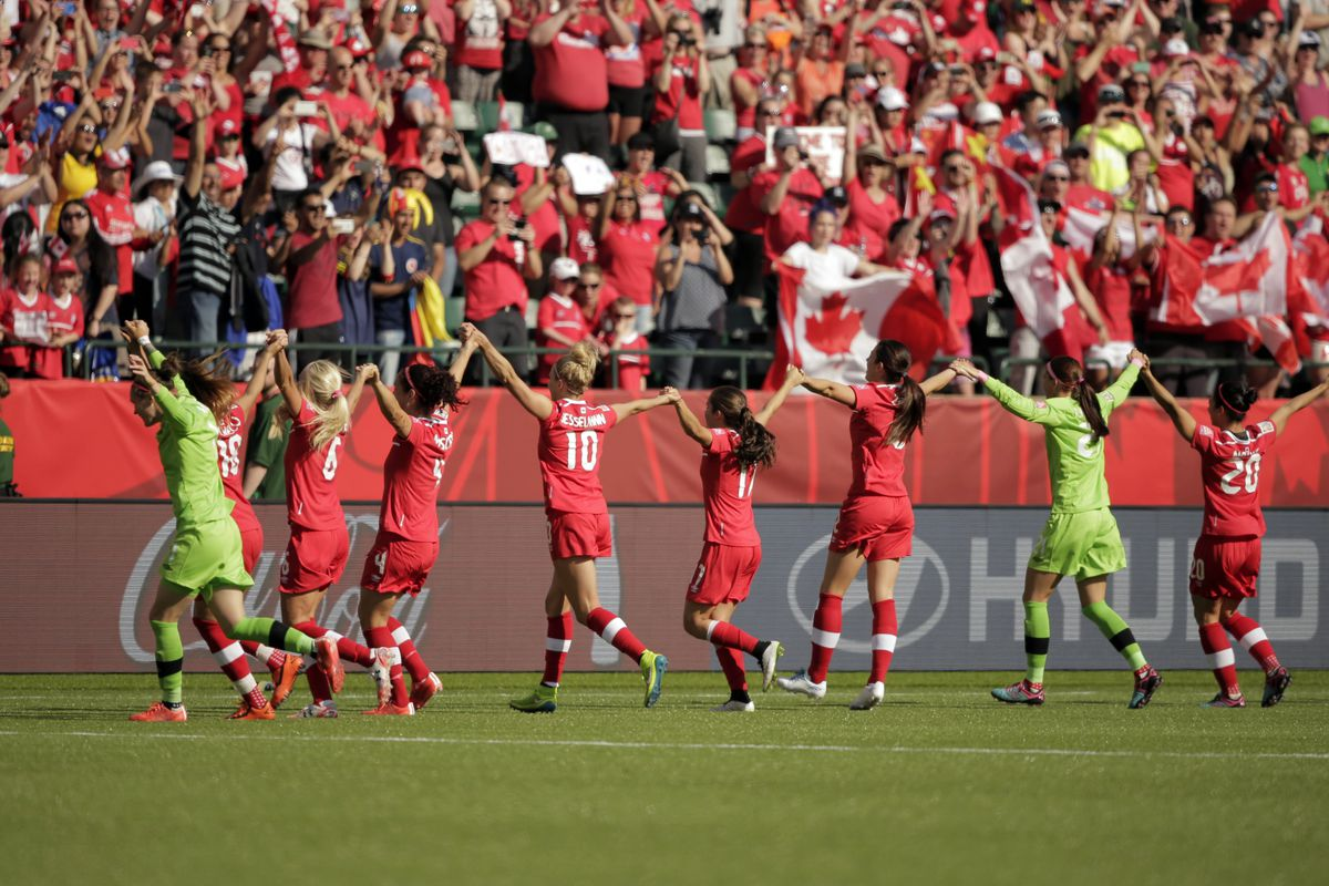 It wasn't easy, but Canada got the required win, kicking off the tournament on the right note