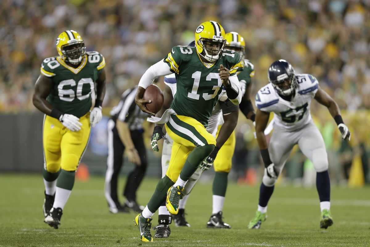 I had forgotten he was with the Packers.