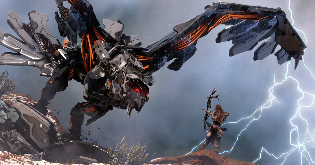 Why Horizon Zero Dawn is my game of the year