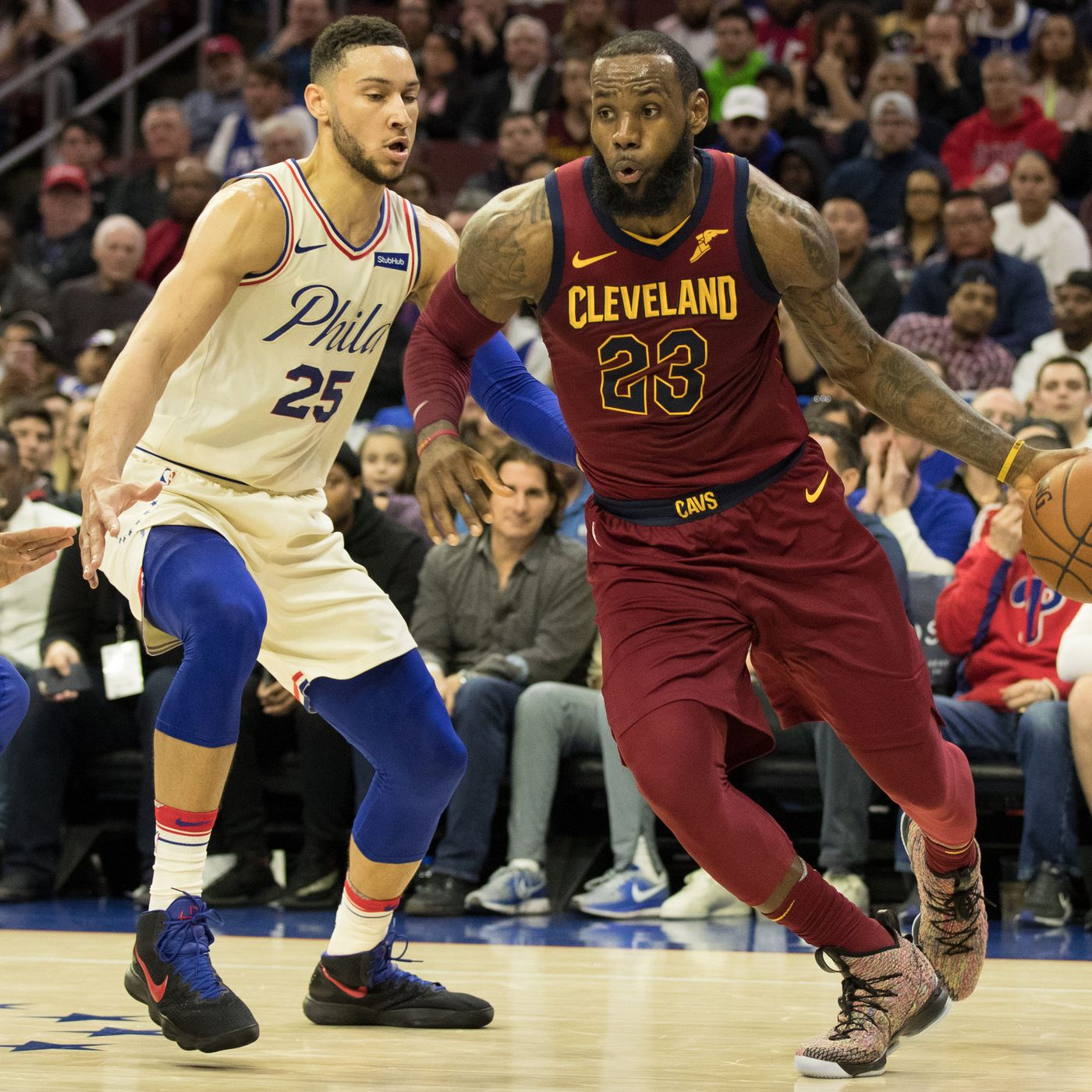 5591558b28f3 Updated LeBron Odds  Philly coming in behind the Lakers - Liberty ...