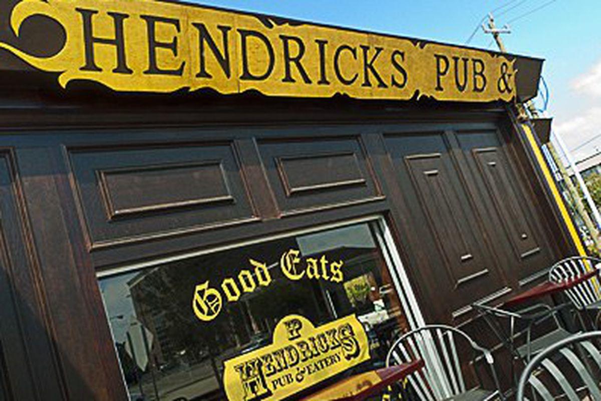 Hendricks Pub.