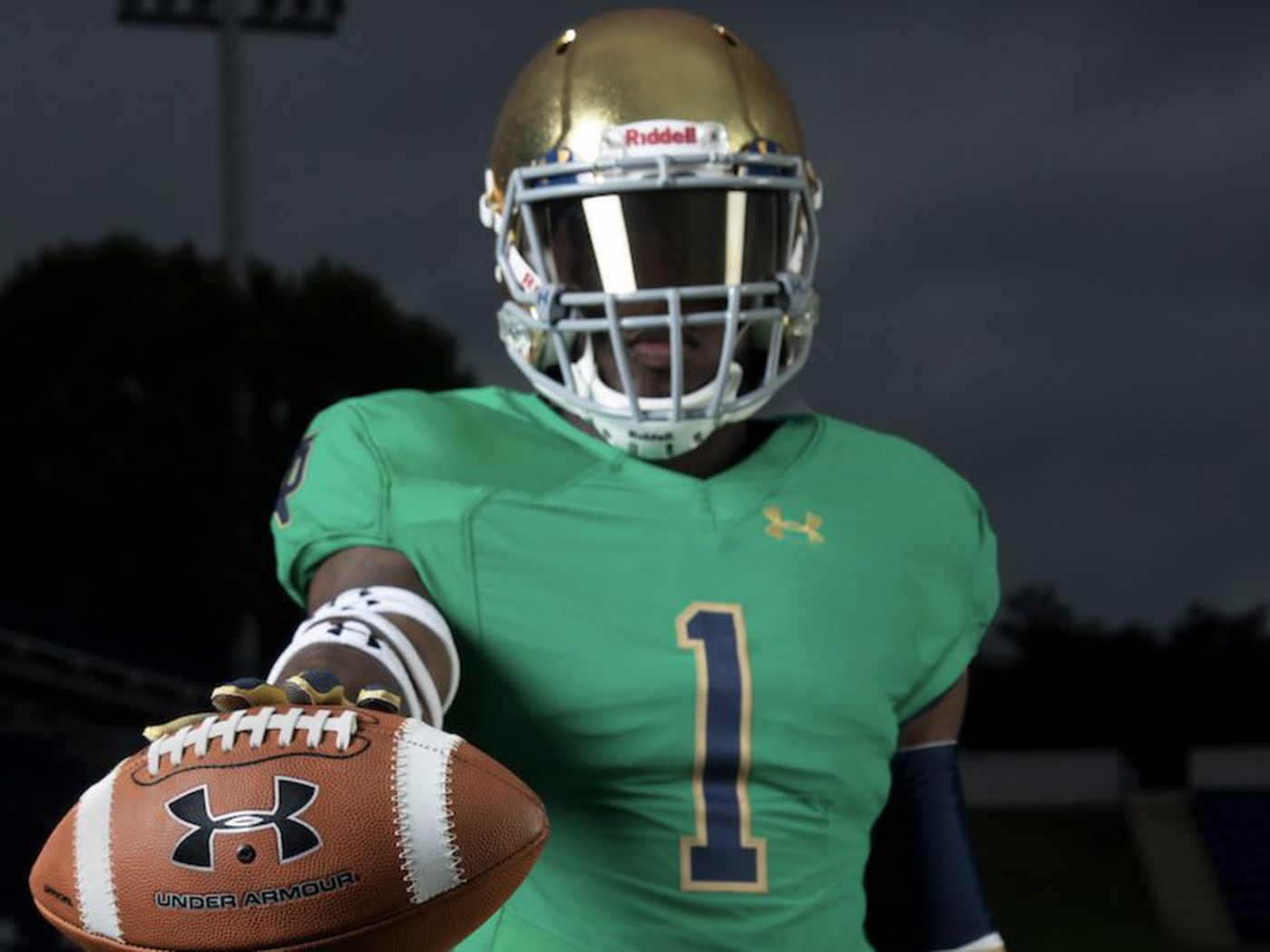 Notre Dame green alternate jerseys have nearly 100-year history ...