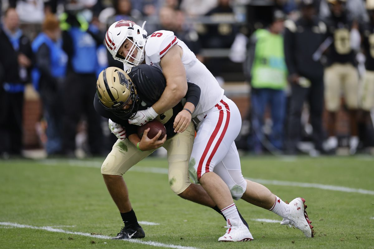 COLLEGE FOOTBALL: OCT 23 Wisconsin at Purdue
