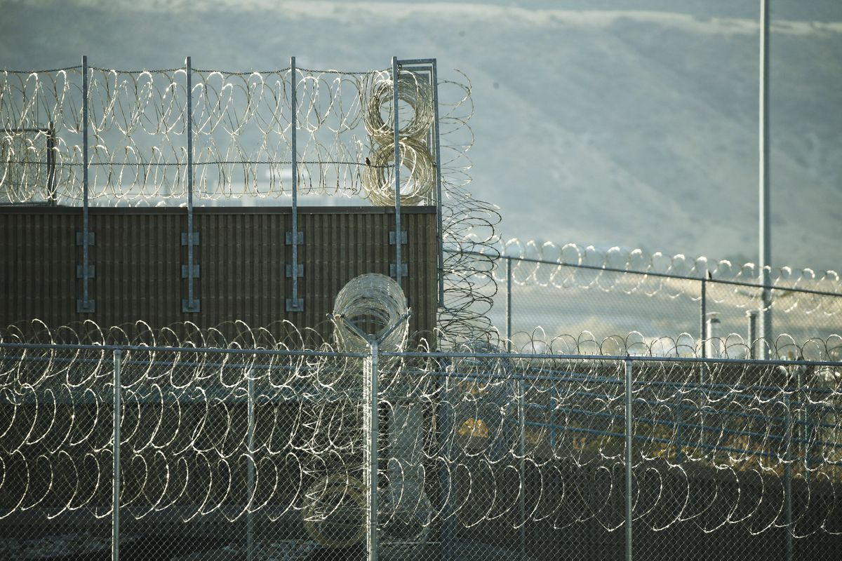 The Utah State Prison in Draper is pictured on Tuesday Nov. 3, 2020. Some inmates are being granted early release because of coronavirus outbreaks.