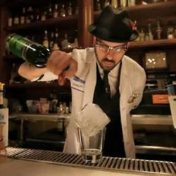 """<a href=""""http://eater.com/archives/2012/07/19/watch-mixologist-a-rap-take-down-of-the-cocktail-scene.php"""">Watch 'Mixologist,' a Rap Parody of the Cocktail Scene</a>"""
