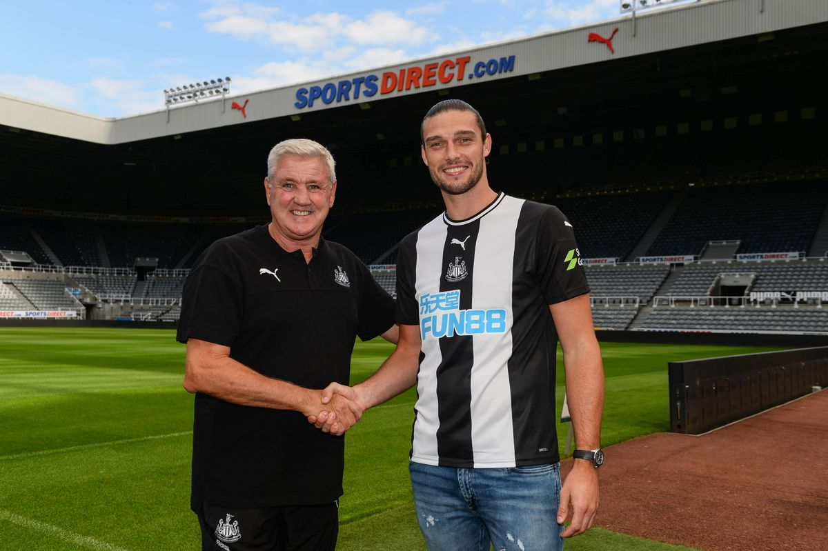 Newcastle United Unveil New Signing Andy Carroll